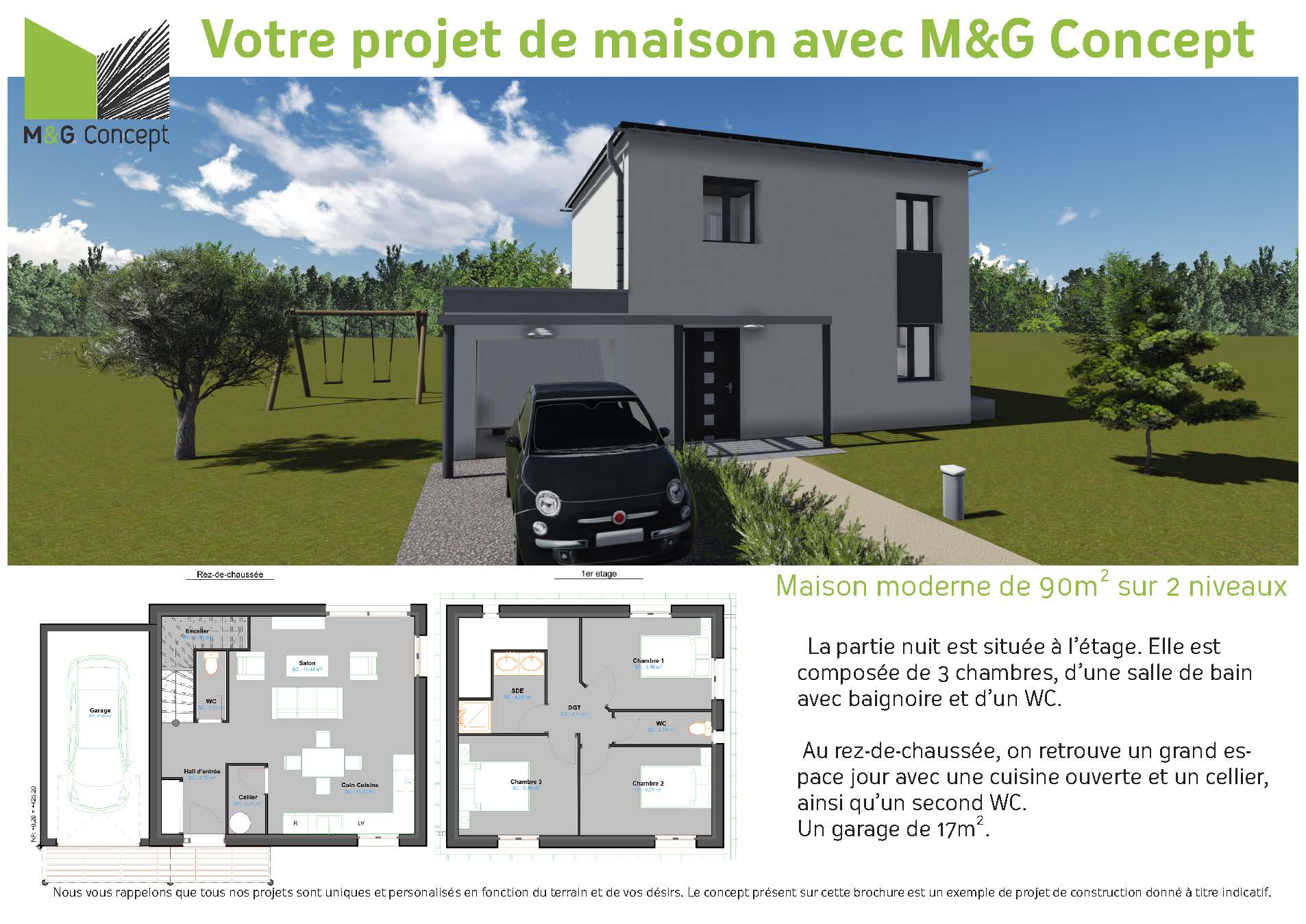 Votre projet de construction de maison montaigut sur for Projet de construction maison